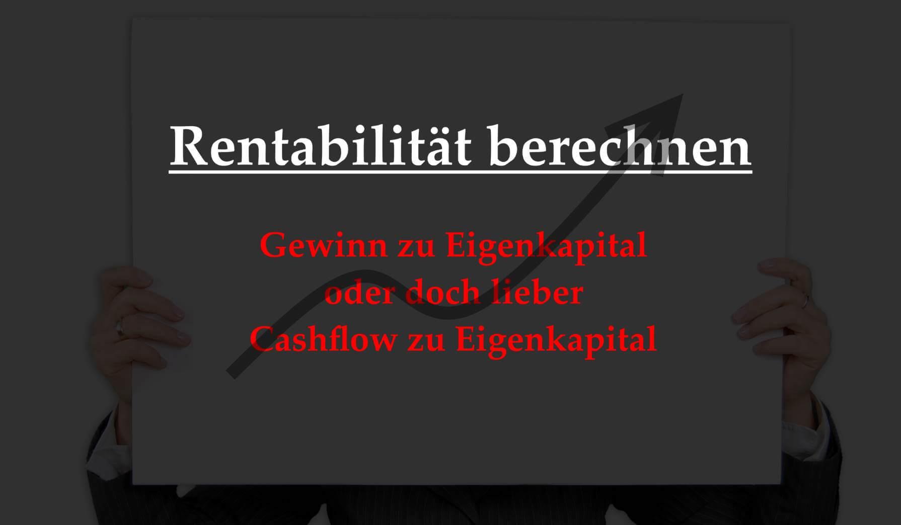 Mit Immobilien Reich Werden Rentabilitat Berechnen