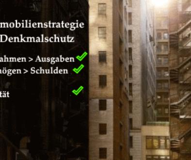 Immobilienstrategie Denkmalschutz