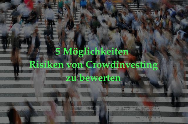 Risiken von Crowdinvesting bewerten