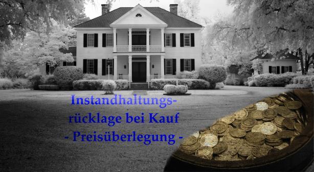 Instandhaltungsrücklage bei Kauf bzw. Verkauf einer Immobilie